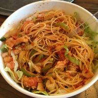 Photo taken at Piada Italian Street Food by Cartucho C. on 6/10/2013