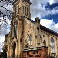 Photo taken at St James Church by Scott I. on 4/13/2013