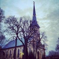 Photo taken at St James Church by Scott I. on 12/7/2012