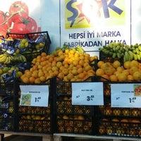 Photo taken at Şok Market by Ecem A. on 11/7/2015