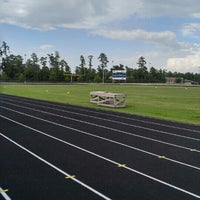 Photo taken at College Park Track by Trisha T. on 6/20/2016
