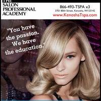 Photo taken at The Salon Professional Academy of Kenosha by Kristina B. on 2/10/2014