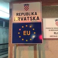 Photo taken at Rijeka Harbour by Mahmut Said G. on 9/28/2016