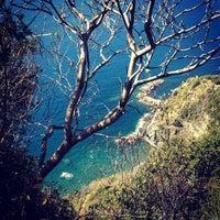 Photo taken at Spiaggia di Riomaggiore by Armine A. on 9/17/2012
