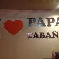 Photo taken at Papa Cabaña by Alex B. on 7/22/2013