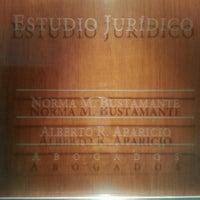 Photo taken at Estudio Jurídico Dr. Alberto R. Aparicio by Martin A. on 2/21/2013