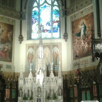 Photo taken at St. Patrick's Basilica by Renny S. on 3/27/2014