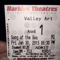 Photo taken at Harkins Theatres Valley Art Theatre by stefanie t. on 1/31/2015