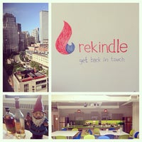 Photo taken at Rekindle HQ 2.0 by Christy M. on 6/20/2014