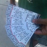 Photo taken at Jacksonville Veterans Memorial Arena by Becca S. on 1/20/2013