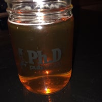 Photo taken at Ph.D Pub Chicago by Mike T. on 4/12/2014