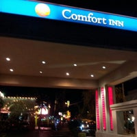 Photo taken at Comfort Inn Paradise/McCarran Internal by Corey S. on 1/9/2013