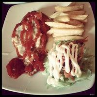 Photo taken at Aussy Burger by Putri N. on 1/9/2013