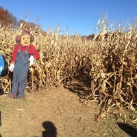 Photo taken at Red Wagon Farm by Amanda D. on 10/26/2014