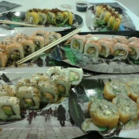 Photo taken at Sushi Roll by Verónica R. on 4/23/2013
