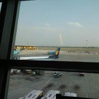 Photo taken at Jet Airways Checkin by Mark R. on 4/10/2013