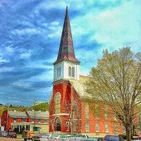 Photo taken at Trinity United Methodist Church by Gary S. on 5/12/2015