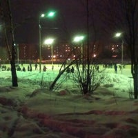 Photo taken at каток by Ирина П. on 1/13/2013