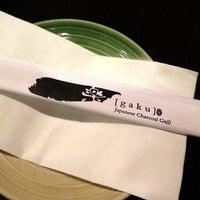 Photo taken at Gaku Yakitori by Tohru K. on 11/11/2012