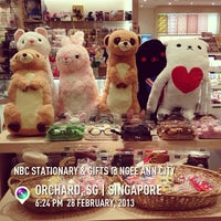 Photo taken at NBC Stationery & Gifts by David C. on 2/28/2013
