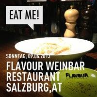 Photo taken at FLAVOUR Weinbar Restaurant by Peter B. on 6/9/2013