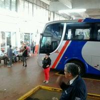 Photo taken at Estação Rodoviária de Santo Ângelo by Tais M. on 9/3/2013