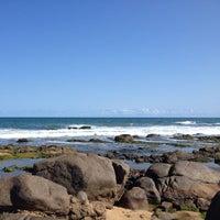Photo taken at Praia Do Costa Azul by Wanderson S. on 9/27/2013
