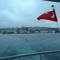Photo taken at Besiktas - Uskudar Boat by Orhan D. on 4/15/2013