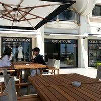 Photo taken at Armani Caffè by Chutz P. on 6/11/2013
