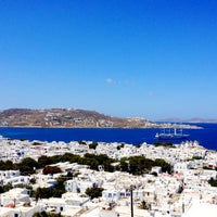 Photo taken at Mykonos Island by john_k.® ✈️☀️ on 6/2/2013