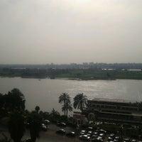 Photo taken at Corniche El Maadi by Ahmed T. on 3/1/2013