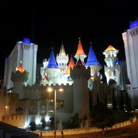 Photo taken at Excalibur Hotel & Casino by Randy H. on 9/28/2012