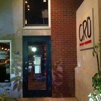 Photo taken at Cru Urban Lounge by Liberty on 2/20/2013