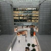 Photo taken at Hilton Frankfurt Airport by Stefan K. on 1/8/2013