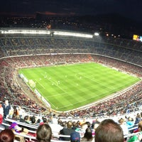 Photo taken at Camp Nou by Eugeny T. on 5/5/2013