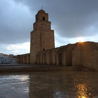 Photo taken at جامع عقبة بن نافع | La Grande Mosquée | Great Mosque of Kairouan by Christina S. on 1/11/2017
