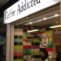 Photo taken at Coffee Addicted by Babie G. on 6/10/2013