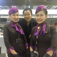 """Photo taken at Check-In Row """"R"""" by Babie G. on 8/12/2015"""