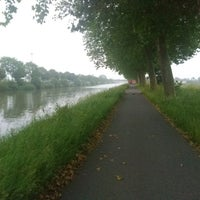 Photo taken at Kanaal Roeselare - Ooigem by steven l. on 6/8/2018