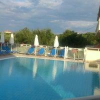 Photo taken at Hotel Pantheon Tsilivi Zakynthos by Olya V. on 6/7/2015