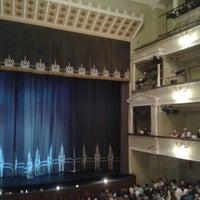 Снимок сделан в Российский академический молодёжный театр (РАМТ) пользователем Kate K. 7/27/2013