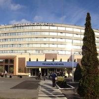 Photo taken at Clayton Hotel - Burlington Road by VanAmstel on 10/26/2012
