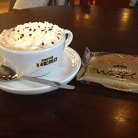 Photo taken at Caffè Nero by New M. on 3/18/2013