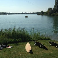 Photo taken at KLI waterski school by Chiara R. on 9/7/2013