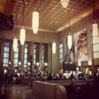 Photo taken at 30th Street Station (ZFV) by Trent K. on 12/21/2012