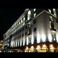 Photo taken at Sofia Hotel Balkan by Tuğçe Ş. on 10/12/2013