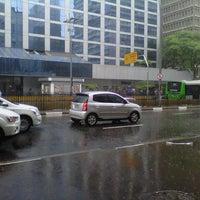 Photo taken at Banco de La Nación Argentina by Carol R. on 1/9/2013