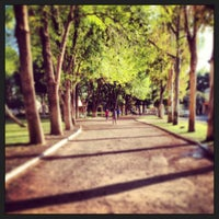Photo taken at Parque Jardines De La Hacienda by Renata A. on 8/3/2013