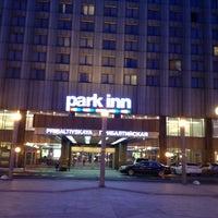 Снимок сделан в Park Inn by Radisson Прибалтийская пользователем Julka B. 4/19/2013