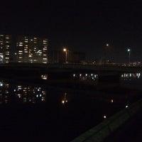 Photo taken at 南千田橋 by ラマ 山. on 1/24/2014